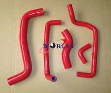 Red silicone radiator hose for TOYOTA COROLLA LEVIN AE111/AE101G 4A-GE 1995-2000