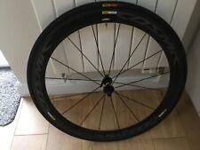 Mavic Cosmic Pro Carbon Exalith Rim Brake Clincher front wheel, 700c