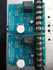 New listing Altronix 6030 multi-Purpose Timer 12Vdc; Pair of 6030's on control box plate.