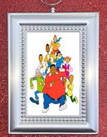 Fat Albert And The Cosby Kids Retro Themed Nostalgic Custom Christmas Ornament