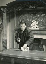 LINO VENTURA CLASSE TOUS RISQUES 1960 VINTAGE PHOTO ORIGINAL #1