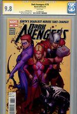 Dark Avengers 178 CGC 9.8 SS Stan Lee Thunderbolts Single Highest on census WP