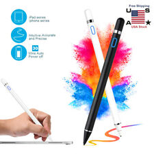 For Tablet iPad iPhone PC Sensitive Rechargeable Touch Screen Stylus Pencil Pen