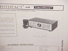 1974 TRUETONE CB RADIO SERVICE SHOP MANUAL MODEL STOCK NUMBER DX4370