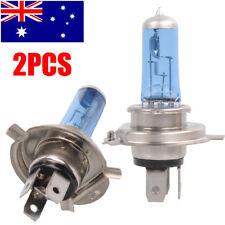 Lot2 H4 Lamp Car Headlight Globes Halogen Bulbs 6000K 55W 12V White Light