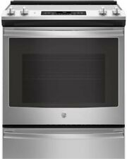 """Ge 30"""" Slide-In True Convection Self Cleaning Stainless Steel Range-Brand New!"""
