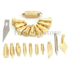 22 Pcs Replacement Wood Burning Pyrography Tips Set Hobby Craft Accessories Kit