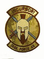 Patch Incursori Task Force 45 Missione Afghanistan Mimetica Vegetata Desert CB62