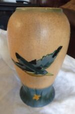 vintage Brentleigh Ware Kingfisher vase Howard Pottery Staffordshire hand paint