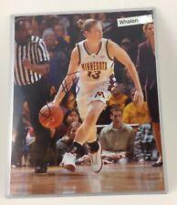 LINDSAY WHALEN signed (UofM) NCAA Basketball 8x10 photo University of Minnesota