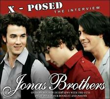 X-posed 2010 by Jonas Brothers . EXLIBRARY *NO CASE DISC ONLY*
