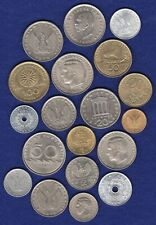More details for greece, 1950s - 1980s, 19x coins, high grade (ref. t3654)
