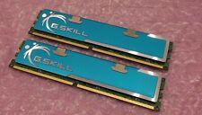 G Skill 4GB 2 x 2GB PC2-8500 1066MHz F2-8500CL5D-4GBPK Desktop Gaming RAM