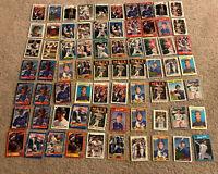 Gary Carter 70 baseball card lot HOF Mets Expos Dodgers Giants Topps Fleer