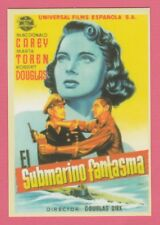 2008 Spanish Pocket Calendar #218 Mystery Submarine Film Poster Robert Douglas
