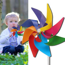 5Pcs Windmill Wind Spinner Ornaments Garden Yard Party Decoration DIY Kids Toy