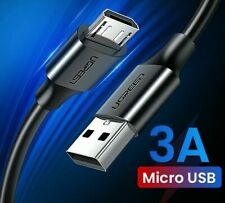 Ugreen Micro USB Cable Fast Charge Data Transfer 3A For Android Phone Tablet HTC