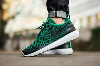 Nike Rohse NM Flyknit SE UK Sizes 6, 7.5, 8, 9, 10 Men's Trainers Shoes Green