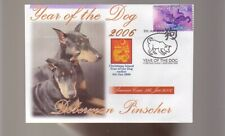 DOBERMAN PINSCHER 2006 YEAR OF THE DOG STAMP COVER 3