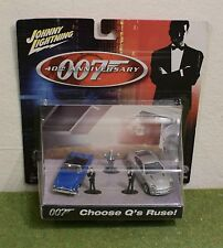 JOHNNY LIGHTNING JAMES BOND 007 40th ANNIVERSARIO scegliere Q 'S RUSE