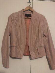 Valley girl Ladies Pink Jacket Size 8