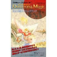 Dungeon & Magic complete capture technique book / NES