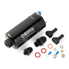 OSIAS 380LPH  Inline External New Fuel Pump 10AN Inlet + Check Vavle 8AN Outlet