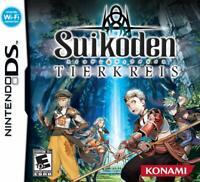 Suikoden: Tierkreis [Nintendo DS DSi, Konami, RPG, Stars of Destiny, Online] NEW