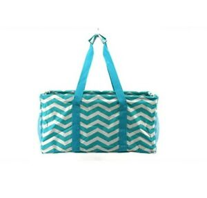 Extra LargeTote Bag for Work Beach Travel Utility Bag - teal