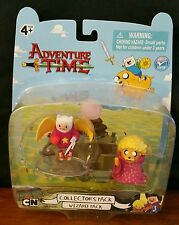 MOC Jazwares Cartoon Network ADVENTURE TIME Collector's WIZARD PACK Figures New