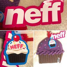 Neff Cupcake Knit Beanie Purple Sprinkles One Size