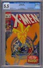 X-MEN #58 CGC 5.5 1ST HAVOK IN COSTUME