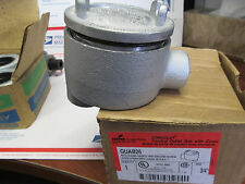 GUAB26 Cooper Crouse Hinds Condulet conduit outlet box - 3/4 LB