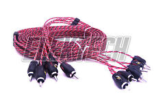 Stinger SI4612 Audio RCA Interconnect Cable 6 Channels 4000 Series 12 ft Stereo