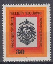 Germany Bund BRD 1971 Mi 658 ** Reichsadler Eagle Wappen Crest Kaiserkrone