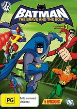 Batman the Brave and the Bold: Season 1 - Vol 3 (Animated) DVD NEW