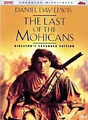 THE LAST OF THE MOHICANS DVD Enhanced Widescreen Director's Expanded Sealed New!