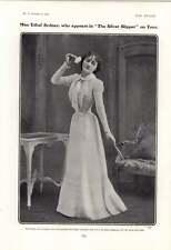 1901 Miss Ethel Sydney Silver Slipper Miss Marie Tempest In Dressing Room
