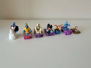 Disney Aladdin Macdonalds Vintage Toy Racers Cake Toppers Jamine Abu Genie