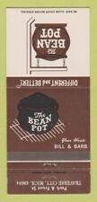 Matchbook Cover - The Bean Pot Traverse City MI 30 Strike