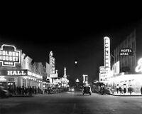 1957 HORSESHOE CLUB Las Vegas Glossy 8x10 Photo Casino Print Downtown Poster