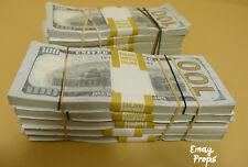 2 $50k - Big Stack For Film, Movies, Videos Prank Fake Replica Copy Prop Money