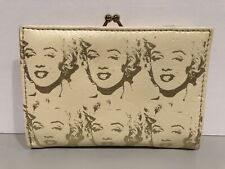 ANDY WARHOL FOUNDATION MARILYN MONROE WALLET AND CHANGE PURSE SET VERY RARE!