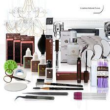 Extensiones de pestañas XL Neicha l-lashes Natural Curved Set Profesional Silk