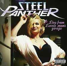 STEEL PANTHER-LIVE FROM LEXXI`S MOM`S GARAGE (W/DVD) (DLX)  CD NEW