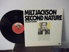 "Milt Jackson,Savoy,""Second Nature The Savoy Sessions"",US,DBL LP,mono,gatefold,M-"