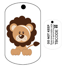 Leo the Lion (Travel Bug) For Geocaching - Trackable Tag - Unactivated