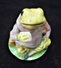 Royal Doulton Beatrix Potter - Jeremy Fisher Figurine
