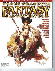 Frank Frazetta Fantasy Illustrated Fall 1998 Issue #3