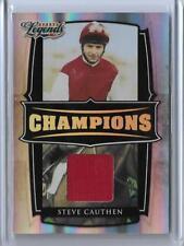2008 DONRUSS LEGENDS STEVE CAUTHEN RELIC CARD #C-20 ~ /100 JOCKEY ~ HORSE RACING